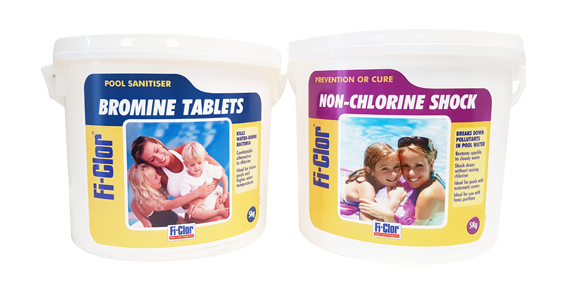 Fi-Clor Bromine Products and Chlorine Free Products