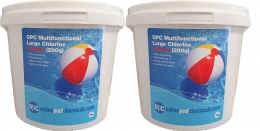 OPC Multifunctional Large Chlorine Tablets (200g) 10Kg (2x5Kgs)