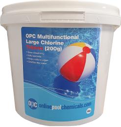 opc mutlifunctional large chlorine tablets