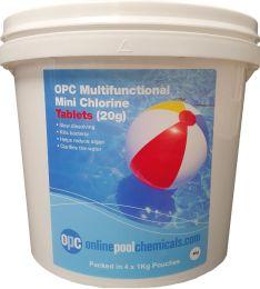 OPC Multifunctional Mini Chlorine Tablets (20g) 4Kg
