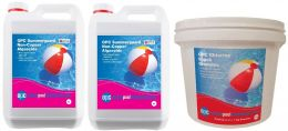OPC Large Summer Pool Kit - Non-Copper Based Algaecide and Chlorine Shock Granules