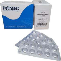 Palintest ph phenol red rapids