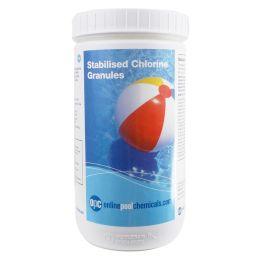 OPC stabilised chlorine granules 1Kg