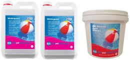 OPC Large Winter Pool Kit - Copper Algaecide and Chlorine Shock Granules
