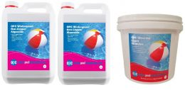 OPC Large Winter Pool Kit - Non-Copper Algaecide and Chlorine Shock Granules