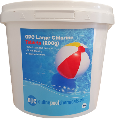 OPc large chlorine tablets 5kg