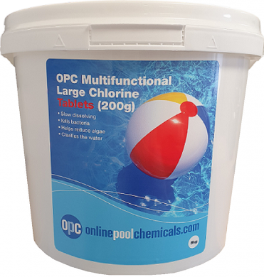 opc mutlifunctional large chlorine tablets