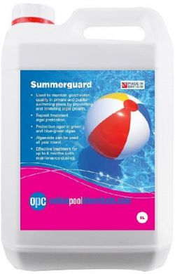 Summerguard - Copper Based Algaecide 5L